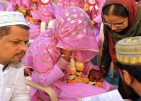 শ্রীলঙ্কায় একটি মুসলিম বিয়ের অনুষ্ঠান