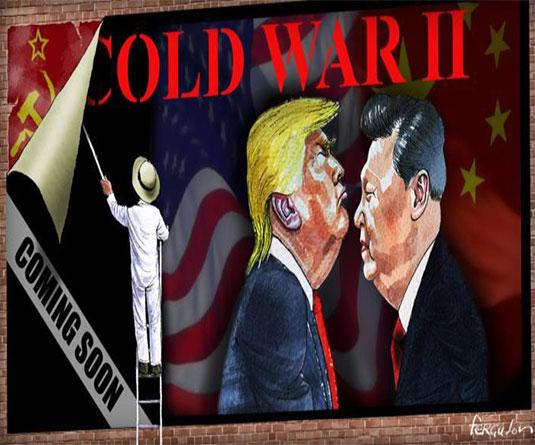 চীনের বিরুদ্ধে যুক্তরাষ্ট্রের যুদ্ধ : ট্রাম্পের গোপন স্বার্থ