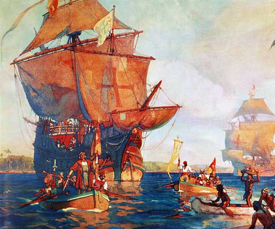 কলম্বাসের ৫০০ বছর আগে আমেরিকার খোঁজ পেয়েছিলেন এক মুসলিম