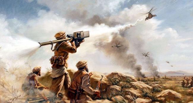 আফগান যুদ্ধে তাদের স্বপ্নের কমিউনিস্ট স্বর্গ ভেঙে ছত্রখান