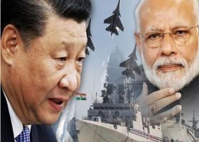 চীন-ভারত যুদ্ধের দামামা