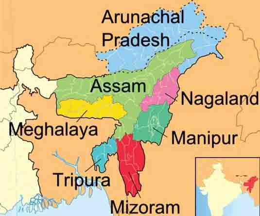 ভারতের সেভেন সিস্টার এবং বাংলাদেশের ভূ-রাজনৈতিক গুরুত্ব