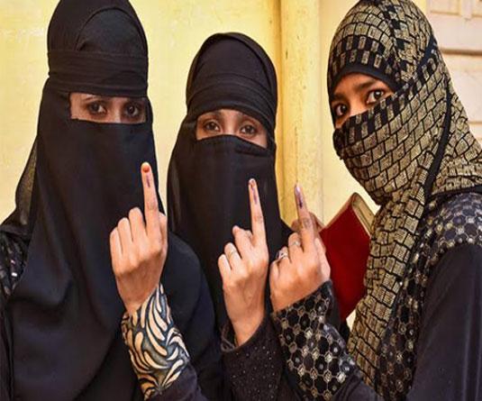 মুসলিম নারী ভোটার